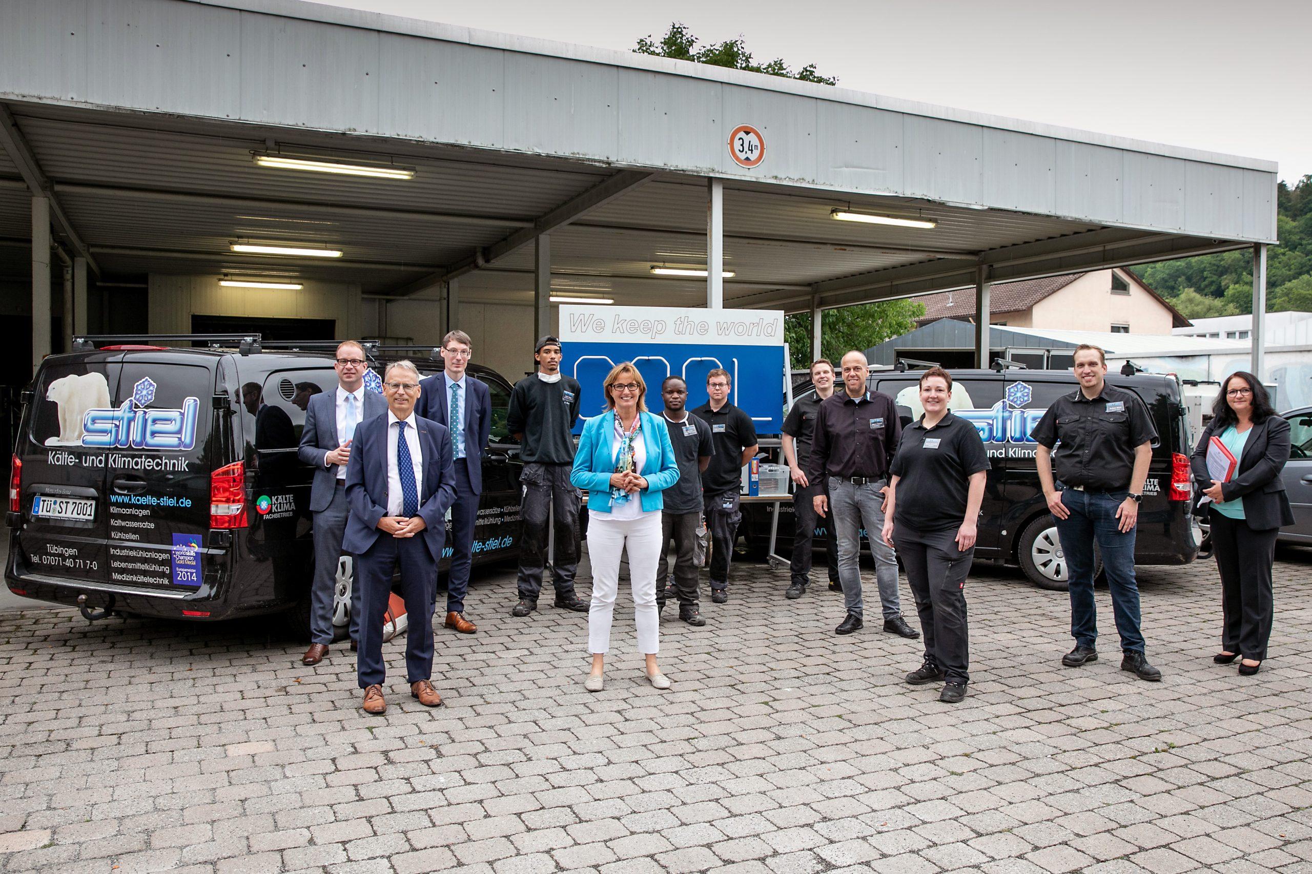 Hoher Besuch – Staatssekretärin Katrin Schütz War Zu Gast Bei Stiel